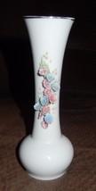 Vintage Lefton China Floral Vase Hand Painted - $11.99