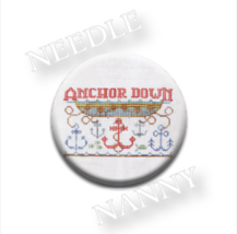 Anchor Down Needle Nanny needle minder cross stitch Hands On Design - $12.00