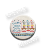 A Little Cottage By The Sea Needle Nanny needle minder Hands On Design - $12.00