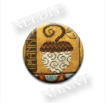 Thankful Needle Nanny needle minder cross stitch Hands On Design - $12.00
