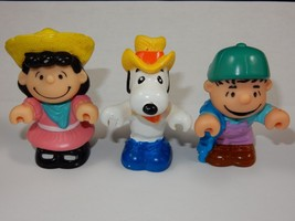 """United Features Syndicate 1966 Peanuts 3"""" PVC Figures - $9.49"""