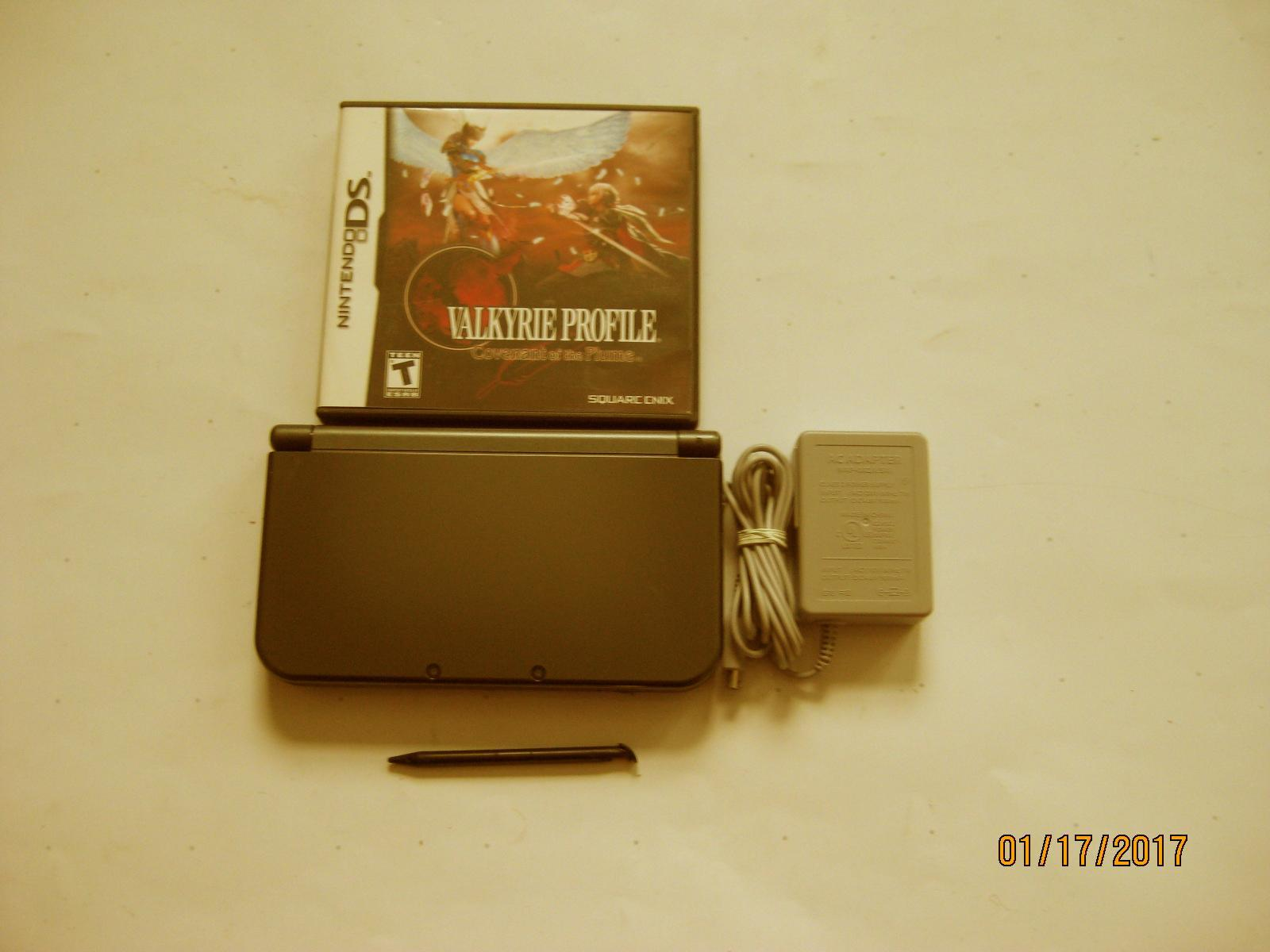 Primary image for Nintendo New 3ds xl Black w Valkyrie Profile & More!!!