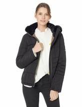 Calvin Klein Women'S Box Quilt Faux Fur Trimmed Traditional Short Down - $94.42+