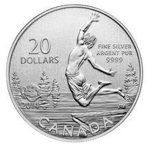 $20 Fine Silver Coin - Summertime Fun (2014) - $32.00
