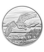 $50 Fine Silver Coin - Snowy Owl (2014) - $70.00