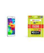 "Straight Talk Samsung Galaxy S5 ""White"" run's o... - $219.99"