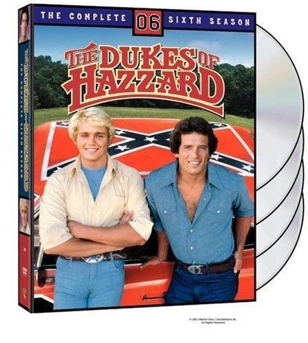 Dukes of Hazzard: The Complete Sixth Season 6 (DVD Set) Classic TV Series New