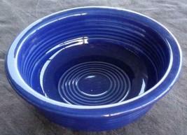 "Vintage Fiesta Cobalt Blue 4.75"" Fruit Bowl - EXCELLENT COND - HLC  COLL... - $29.69"