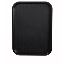 Winco FFT-1418K Fast Food Tray, 14-Inch by 18-Inch, Black, Set of 6