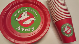 Ghostbusters plates and cups set of 36 - $59.39