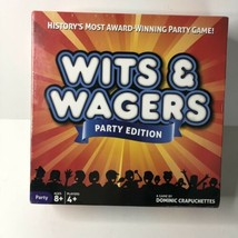 Wits & Wagers Party Edition - History's Most Award Winning Party Game! NIP - $17.13
