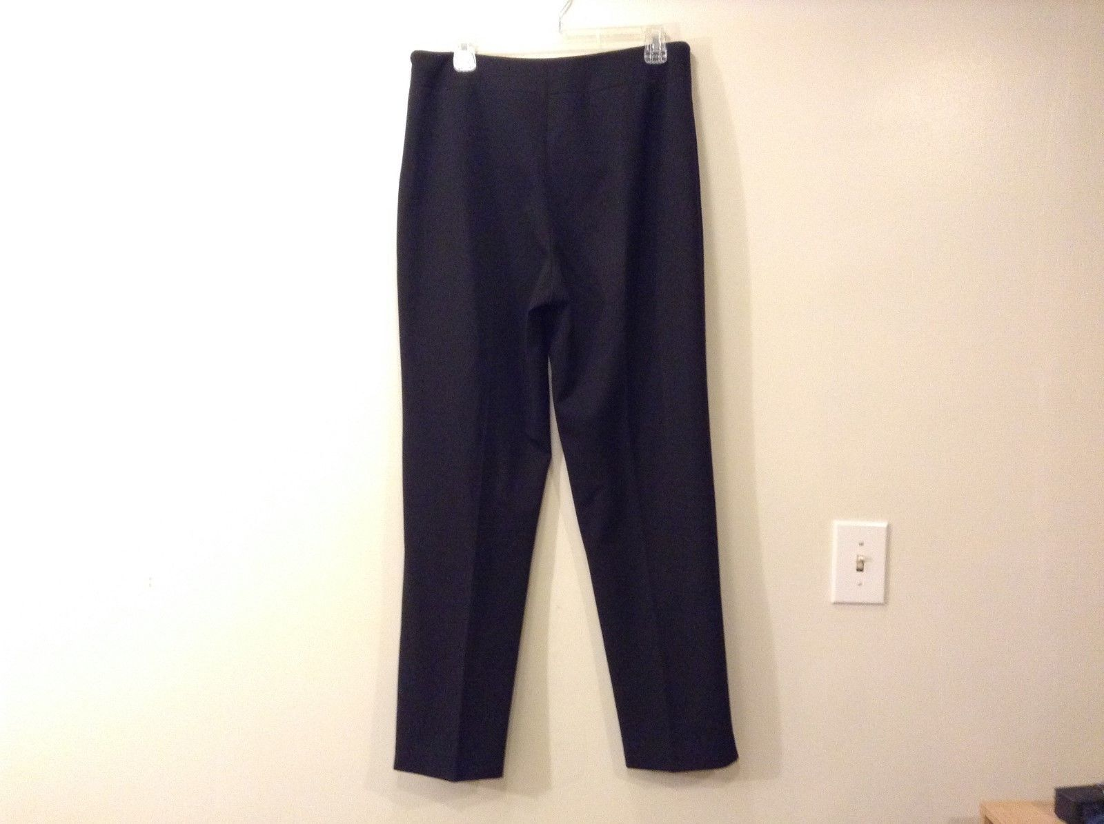 Ladies Saks Fifth Avenue Black Classic Pants Sz 12