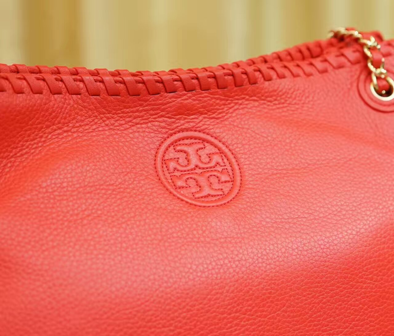 NWT Tory Burch Marion Chain-shoulder Slouchy Tote