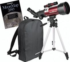 Telescope Moon Kit 70mm Refractor Travelscope Moon Stargazer Binoculars - $159.64
