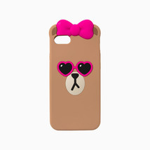 LINE Friends CHOCO Pink Sunglass iPhone Silicone Case 7/7Plus Phone Cove... - $34.57+