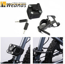 Weanas Bike Folding Joint Lock Alloy Steel Chain Heavy Duty MTB Portable... - $36.99