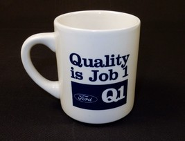 Ceramic Beverage Mug, 10 oz., Branded FORD Q1 Quality ~ Coffee, Tea, Coc... - $7.79