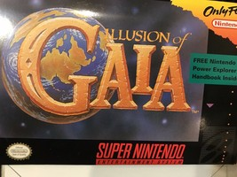 Illusion of Gaia (SNES) Super Nintendo In Retail Box ES01 - $42.95
