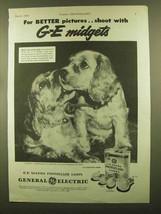 1945 General Electric Mazda Photoflash Lamps Ad - $14.99