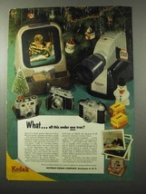 1953 Kodak Cameras Ad - Retina Iia, Signet 35, Pony 828 - $14.99