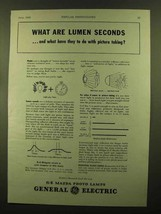 1943 General Electric Mazda Photo Lamps Ad - Lumen - $14.99