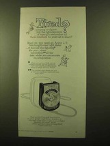 1958 Argus L-3 Matching Pointer Light Meter Ad - Tired? - $14.99