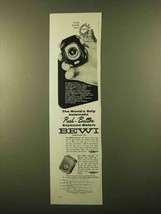 1958 Bewi Automat B and Automat C Meters Ad - $14.99