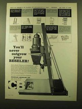 1958 Beseler Enlargers Ad - You'll Never Outgrow - $14.99