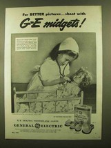 1945 General Electric Mazda Photoflash Lamps Ad - For Better Pictures - $14.99