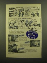 1949 Ford Parts Ad - Tracy Twins Dik Browne? - $14.99