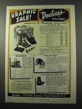 1957 Dowlings Pacemaker Graphic, Stroboflash Ad - $14.99