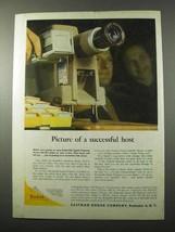 1957 Kodak Kodaslide Signet Projector Ad - Successful - $14.99