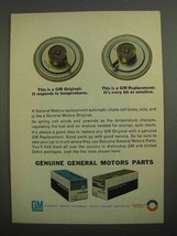 1966 GM Parts Ad - Automatic Choke Coil - $14.99