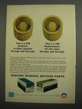 1966 GM Parts Ad - Fuel Filter - $14.99