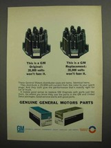 1966 GM Parts Ad - Distributor Caps - $14.99