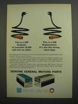 1966 GM Parts Ad - Spark Plug Cable - $14.99
