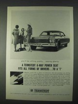 1966 GM Ternstedt Power Seat Ad - Fits All Forms - $14.99