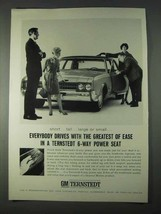 1966 GM Ternstedt Power Seat Ad - Greatest of Ease - $14.99
