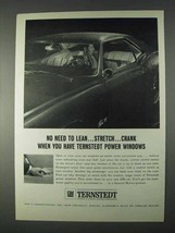1966 GM Ternstedt Power Windows Ad - No Need to Lean - $14.99