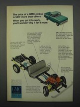 1966 GMC Pickup Trucks Ad - Price Is More Than Others - $14.99