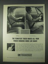 1966 GM Ternstedt Power Windows Ad - Like Magic - $14.99
