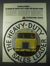 1966 International Harvester CO-4000 Truck Ad - Leader - $14.99