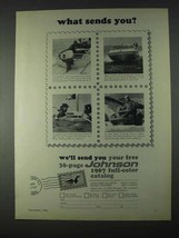 1966 Johnson Outboard Motor Ad - What Sends You? - $14.99