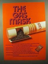 1970 Lark Cigarettes Ad - The Gas Mask - $14.99