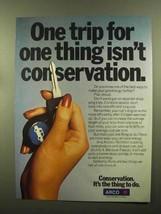 1980 Arco Atlantic Richfield Ad - Conservation - $14.99