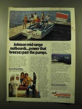 1981 Johnson Outboard Motors Ad - Power that Breezes - $14.99