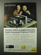 1959 Kodak Cavalcade Projector  Ad - Changes Itself - $14.99