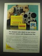 1959 Kodak Kodachrome Film Ad - Sharpest Color Detail - $14.99