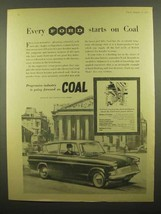 1960 Ford Motor Company Ad - Every Ford Starts on Coal - $14.99
