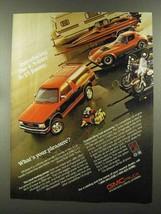 1988 GMC S-15 Jimmy Truck Ad - $14.99
